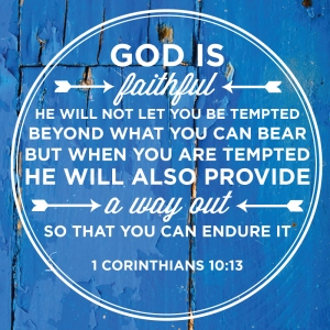 God will provide a way out