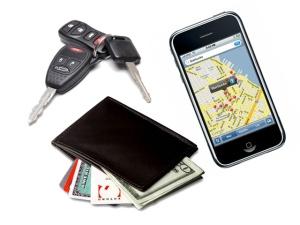 keys wallet phone