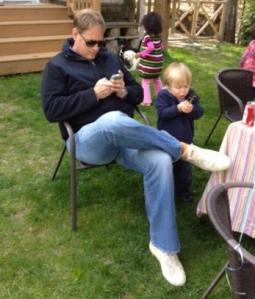 dad on iPod