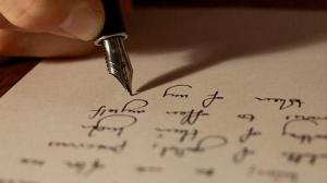 handwritten letter 2