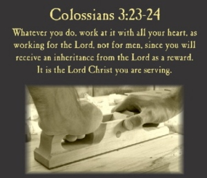 Colossians 3 23-24