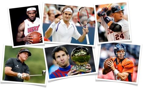 sports greats