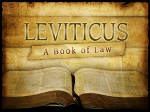 Leviticus A Book of Law