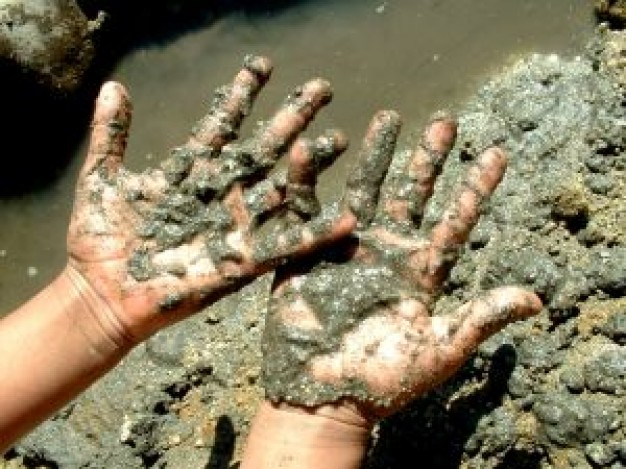 """Image result for muddy hand"""""""