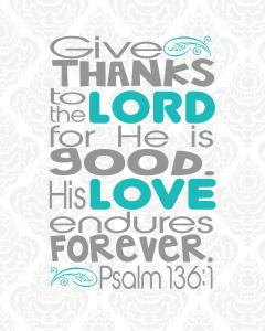 Psalm 136.1