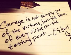 courage CS Lewis