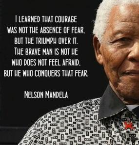 courage Nelson Mandela