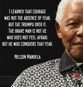 courage Nelson Mandela