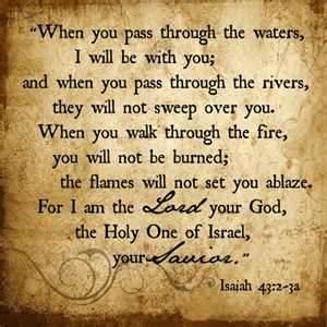 Isaiah 43.2-3a