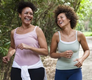 friends running