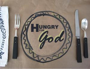 Hungry for God graphic