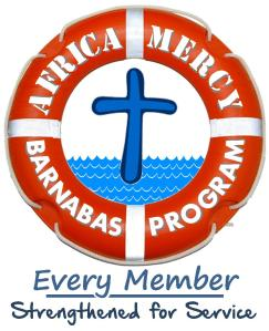 Barnabas Program graphic with tag line