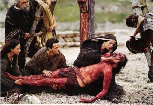Jesus body dead from cross