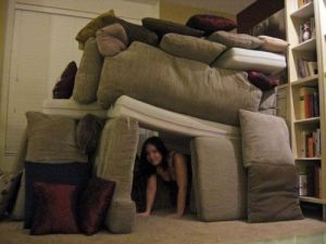 pillow fort empty tomb