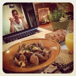 skype meal